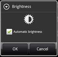 Automatic Brightness Android
