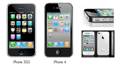 Compare iPhone 3GS vs iPhone 4