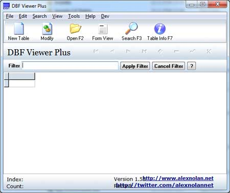 DBF Viewer Plus