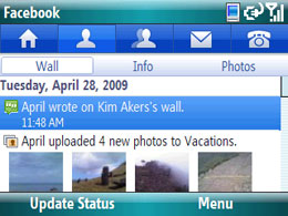 Facebook for Windows Mobile