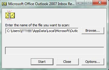 Fix PST file Microsoft Outlook