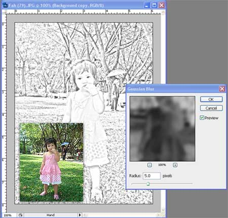 Convert Photo to Drawing Photo