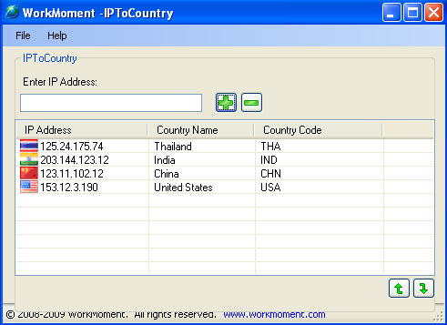 convert ip to country