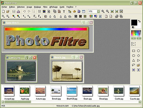 Photo Filtre Retouch Tool