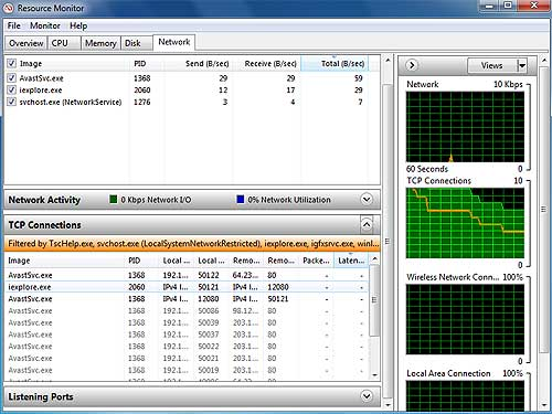 Resource Monitor Windows 7