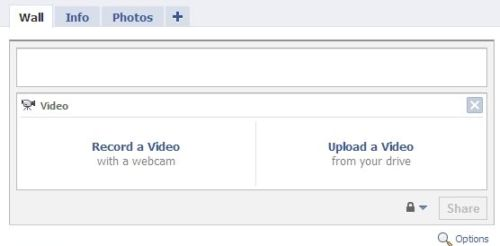 Upload Video File to Facebook