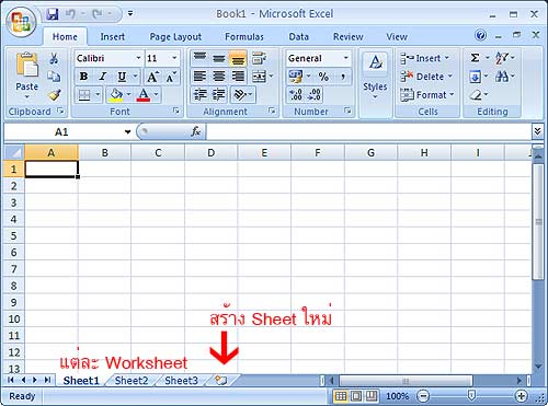 Working with Working Excel 2007