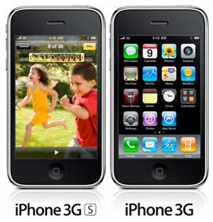 iPhone 3Gs vs iPhone 3G