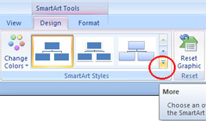 SmartArt Styles in Microsoft Office 2007